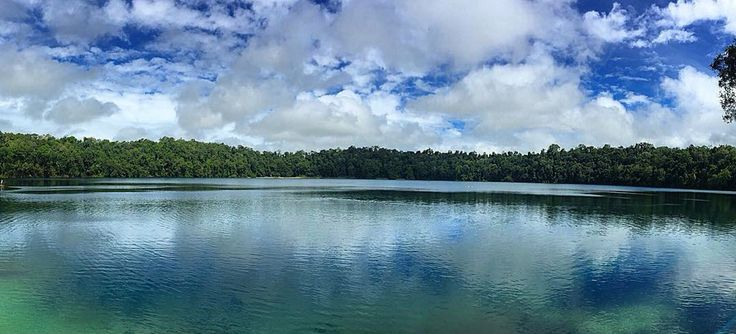 Lake Eacham - photo taken by me - April 2016