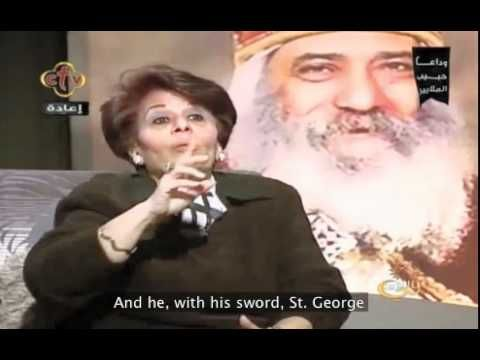 POPE SHENOUDA MIRACLE ABOUT COMMUNION - CTV (ENGLISH SUBTITLES)