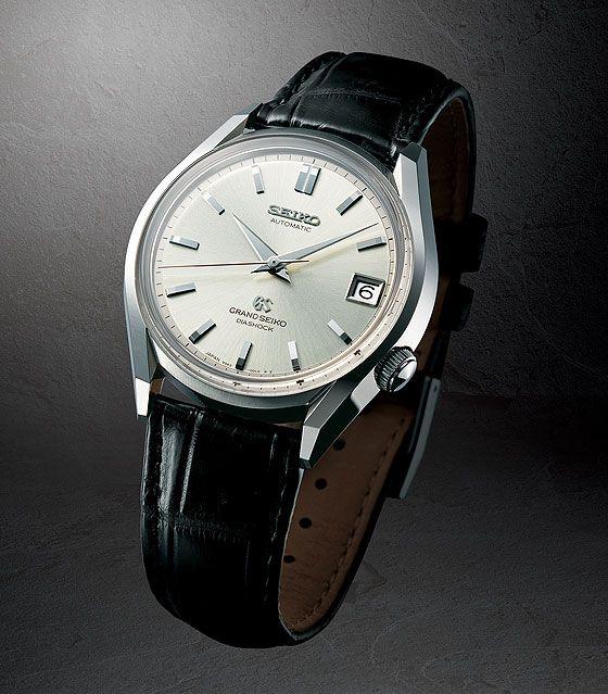 Grand Seiko 62GS, baseado no primeiro relógio da marca equipado com um movimento automático, apresentado em 1967.
