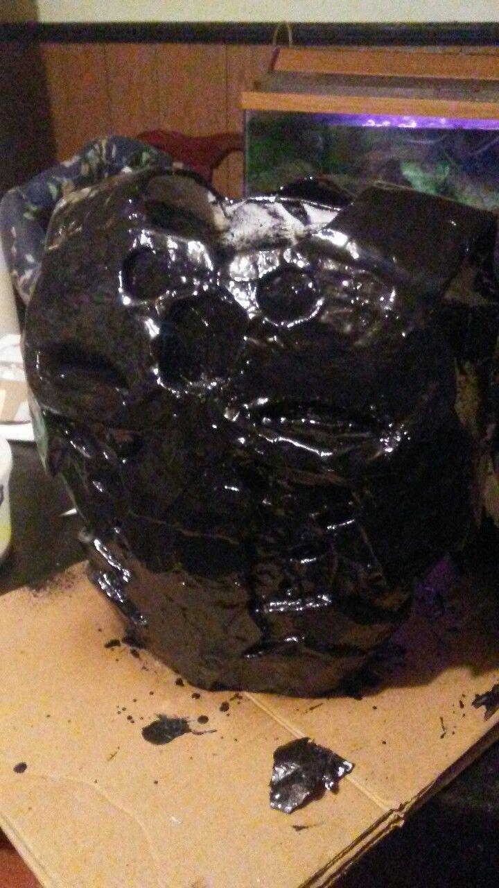 DIY Flex Seal Paper Machete Armor Ruff Draft