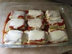 21 Day Fix Lasagna Roll ups! These are so good they are amazing whether you're on the fix or not!