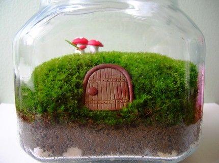 Florarium. Флорариум, мох. Сад в бутылке.