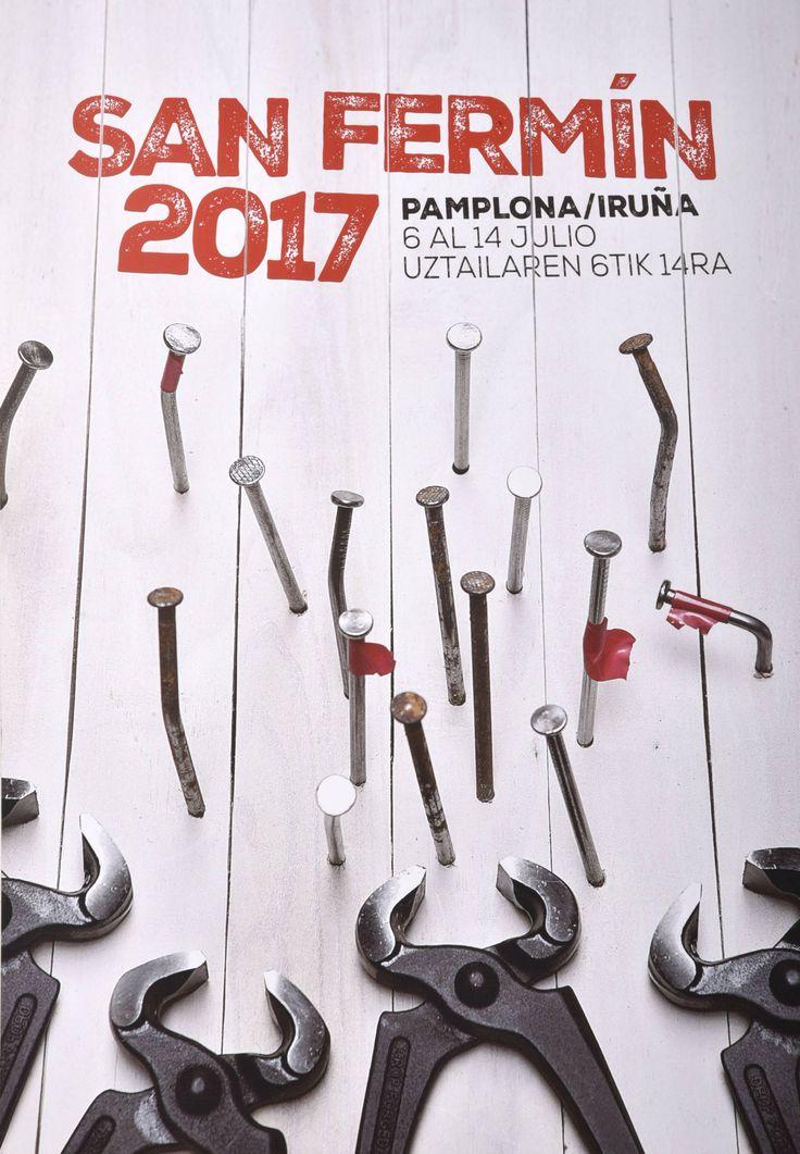 Cartel finalista de San Fermín 2017 Nº 5 – 269 – Hnos. Aldaz Remiro