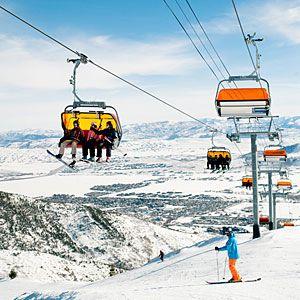 Top 20 ski resorts | Canyons Resort, Park City, UT | Sunset.com via @Annie Magazine