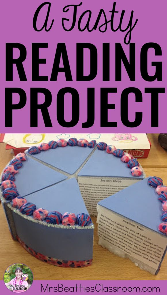 A Tasty Reading Project | Reading projects, Creative ...