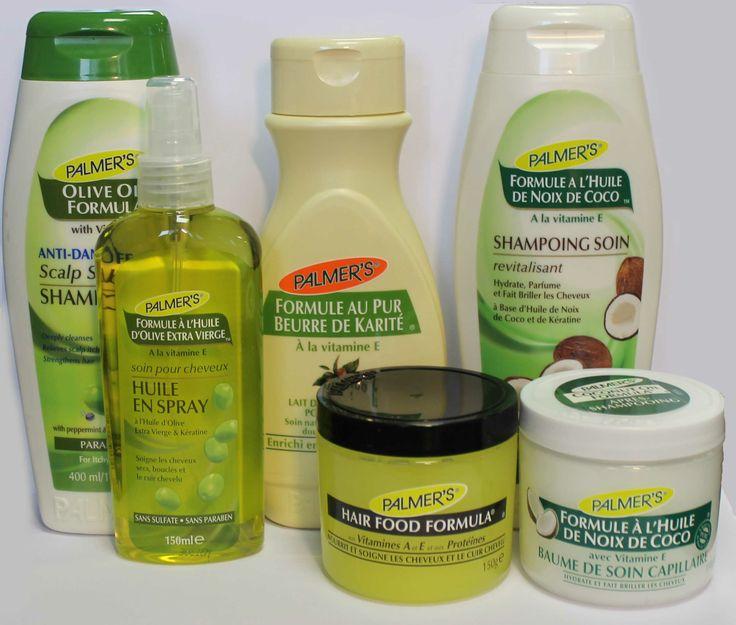 soins palmer 39 s pour le corps et les cheveux l 39 huile d 39 olives au beurre de karit et la noix. Black Bedroom Furniture Sets. Home Design Ideas