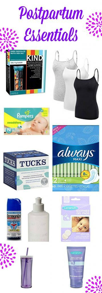 Postpartum Essentials - Postpartum - Postpartum must haves- Postpartum recovery- What you will need for postpartum recovery