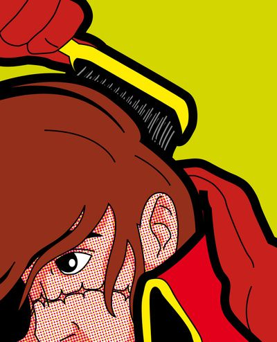 The secret life of heroes - Harlock Hair Art Print