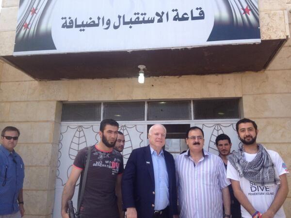 ISIS Jihadists Runs New Jihad Campaign Featuring Treasonous John McCain Alongside Syrian Islamists