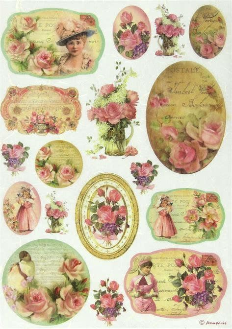 Image result for Free Decoupage Vintage Printables Sheets