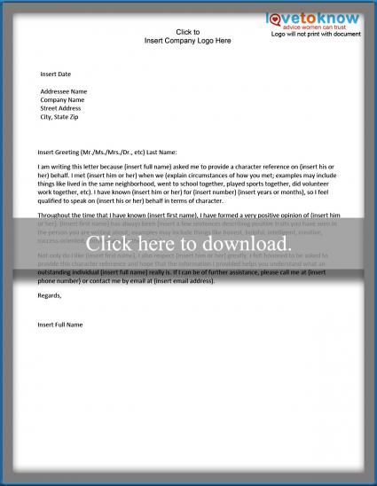 The 25+ best Personal reference letter ideas on Pinterest Sample - character reference letter