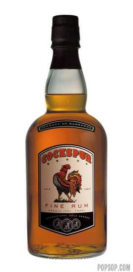 Cockspur Rum. Served to your enemies