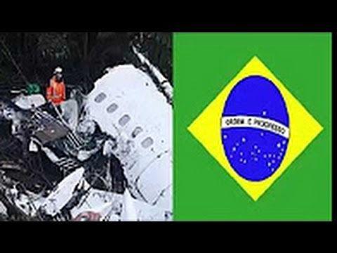 Brazilian soccer team  Chapecoense اخر فيديو للفريق البرازيلي الذي سقطت ...