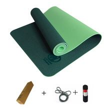 TPE Yoga Mat  esterilla yoga mat for fitness pilates 6mm 183*61*0.6 Tasteless for Beginners yoga-mats-fitness Free shipping //Price: $US $28.96 & FREE Shipping //