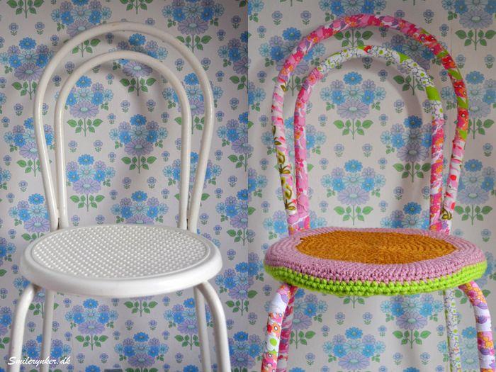 Super Sweet idea: Aaa Sort Repin, Chairs, Ook Eens, Diy, Stól Soldið Halló, Um Stól Soldið