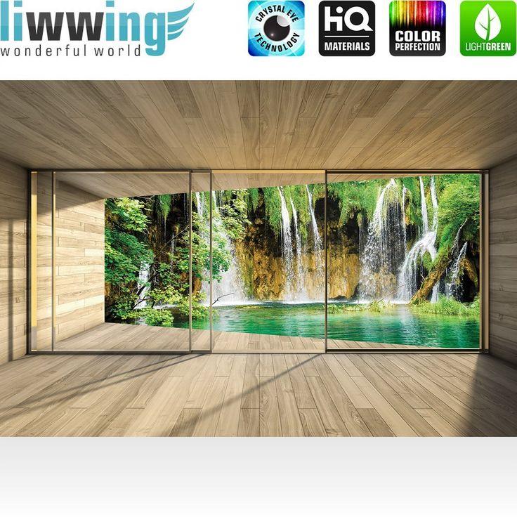 Yli tuhat ideaa Fototapete Wasserfall Pinterestissä Wandbilder - fototapete für badezimmer