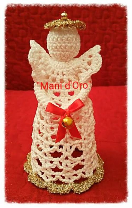 Amigurumi Angioletto Uncinetto : 17 Best images about Uncinetto Angeli on Pinterest ...