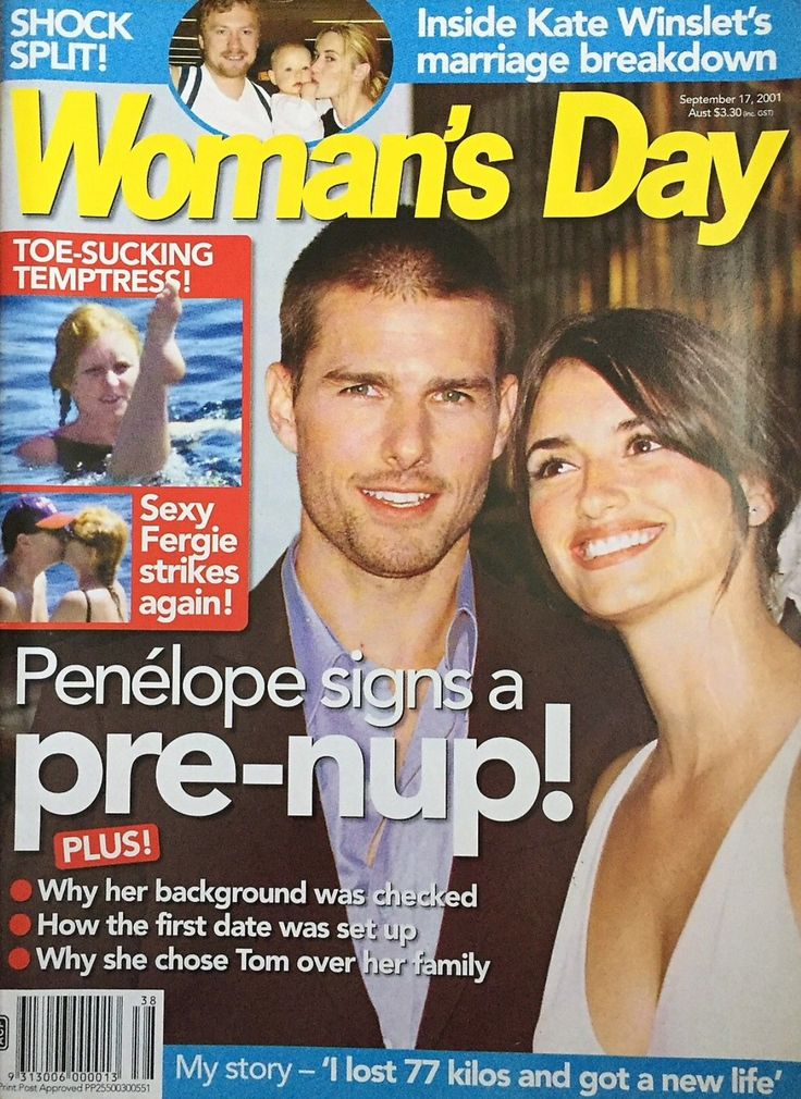Woman's Day Magazine September 17, 2001 ~ Fergie