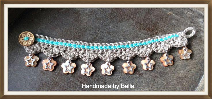Ibiza crochet bracelet
