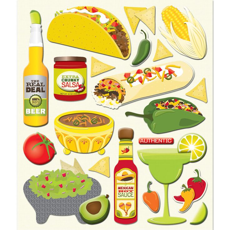 Mexican Sticker Medley_30-587885 | Simplicity