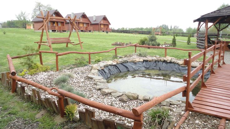 Zdjęcia ośrodka wypoczynkowego w Bieczu | Wczasy pod gruszą Oczko wodne przy naszym ośrodku: http://www.domkiwbeskidach.pl/domek-w-gorach.html