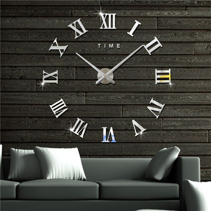 How to Make a Giant DIY Wall Clock {from a tabletop ...