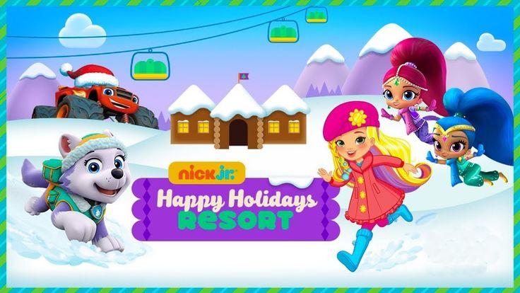 Nick Jr. - Happy Holidays Resort - Kids Game