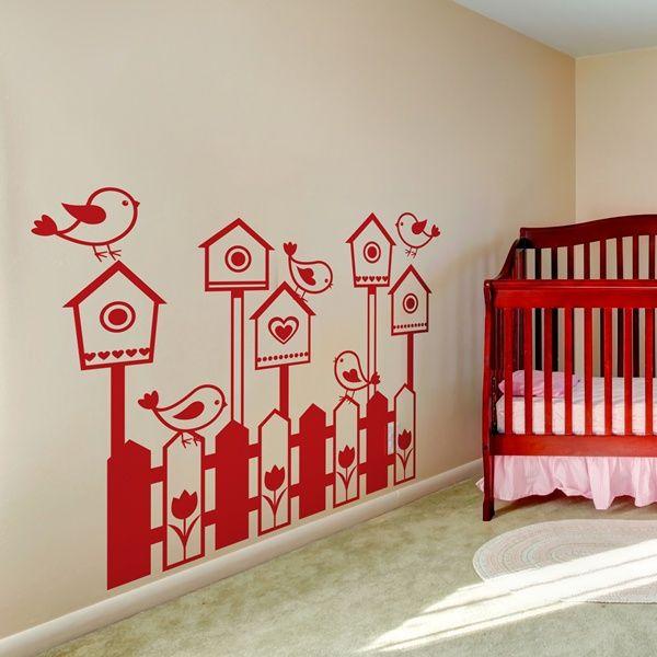 29 best vinilos infantiles para paredes images on pinterest for Vinilos decorativos infantiles