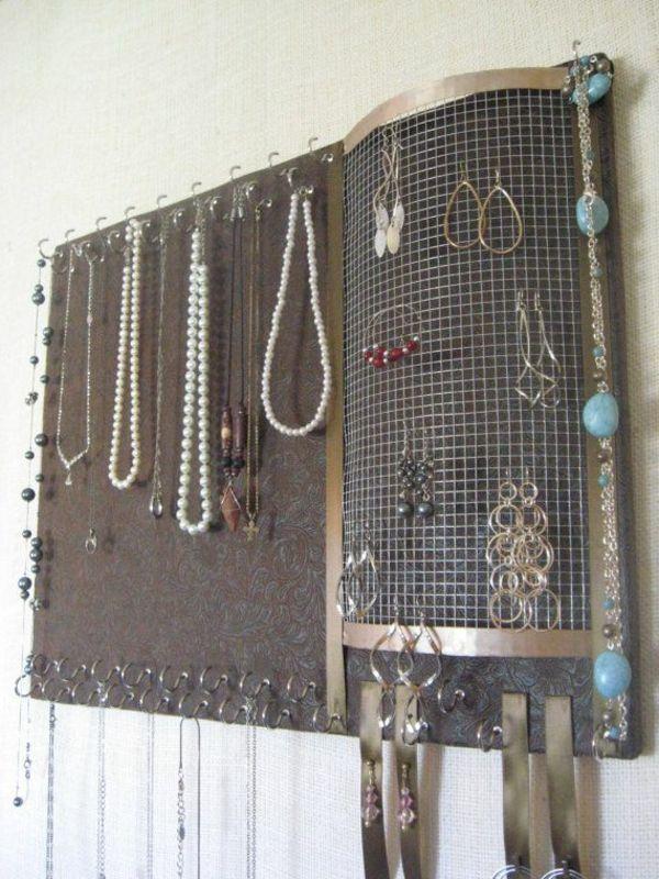 porte bijou métalique
