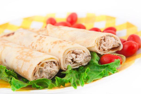Κρέπες αλμυρές, με τυρί, κοτόπουλο και καλαμπόκι . Ποιος λέει όχι σε μια απολαυστική αλμυρή κρέπα ;