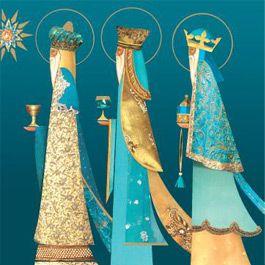 christmas 3 kings | Three Kings Christmas Cards