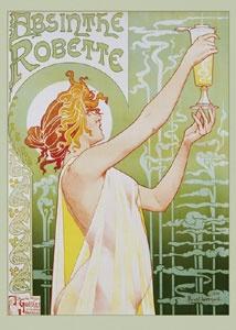 Absynthe Robette by Henri Privat - art nouveau
