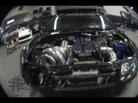 High Quality GIGANTIC 91MM TURBO 200 Shot Nitrous Toyota Supra MKIV 1500 Hp