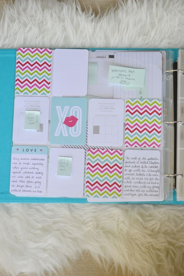 33 creative scrapbook ideas every crafter should know diy projects - Laurel Lane Planning Your Project Life Album I Ve Seen A Lot Of These