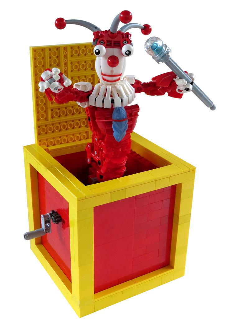 LEGO Pop goes the weasel.