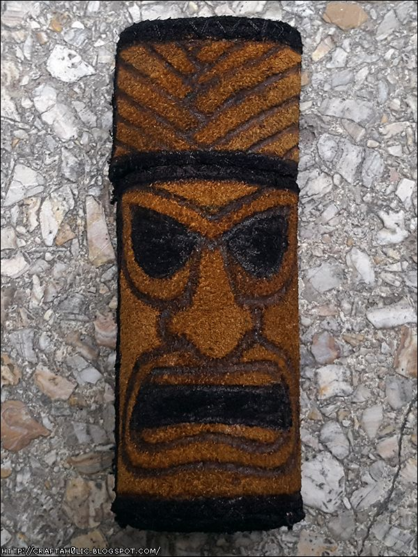 Tiki Lighter Case