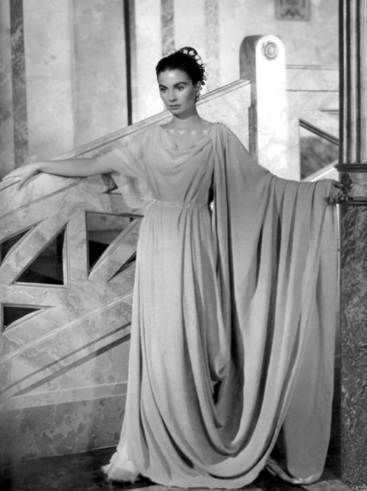 "Jean Simmons in ""The Robe"""