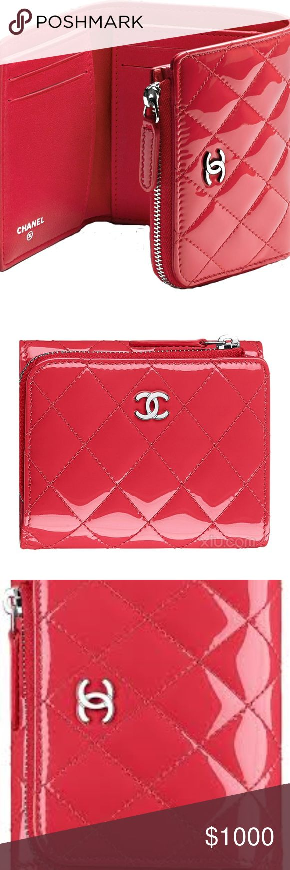 ISO NOT FOR SALE Chanel Small Patent Wallet ISO: DO NOT BUY, NOT FOR SALE  In search of a Chanel Small Patent Calfskin Wallet: Style Number A80480 Y06830 2A787 from a few years back in a coral patent leather. Please let me know if you have one and are willing to list it on Posh. Also, if you come across one on another site as well, please let me know! Trying to knock some things off my wish list in 2018! CHANEL Bags Wallets