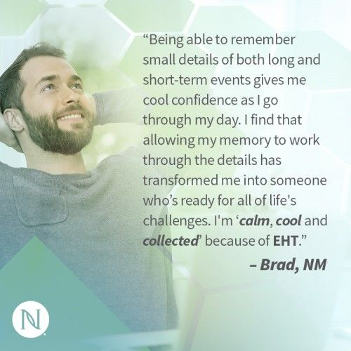 EHT allows you to feel confident in your cognitive abilities. Try this incredible supplement today: http://nerium.io/xdt