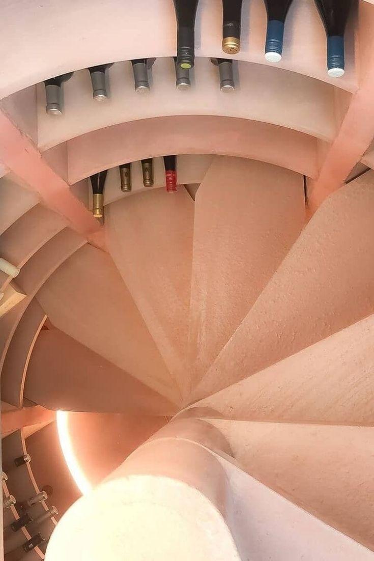 L Escalier En Colimacon Des Caves Helicave N Est Pas Qu Esthetique