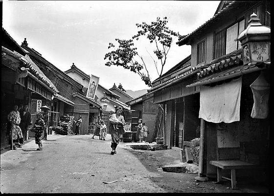 オールド にっぽん �【幕末〜明治の街道風景】東海道. | 古い写真 ...