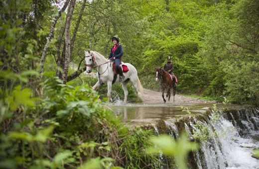 Nestled in the Tuscan countryside, Il Paretaio is perfect for a laid back riding vacation - lessons or trail rides through fairytale landscapes.