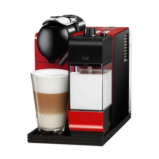 Delonghi Lattissima Machine Plus Coffee capsule system Passion Red