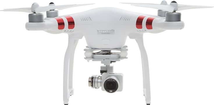 DJI - Phantom 3 Standard Quadcopter - White