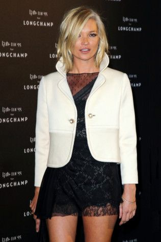 Kate Moss styles vintage Valentino