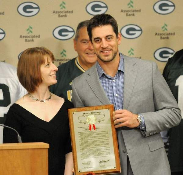 Aaron Rodgers Glady Accepts Aaron Rodgers Day in Wisconsin