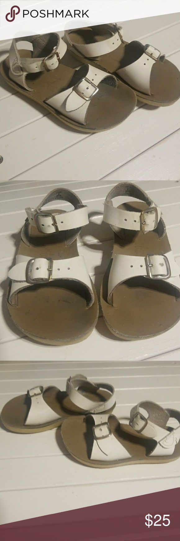 Salt water sandals toddler by hoyway Salt water sandals toddler by hoyway. Great support for play. Very durable soles and super comfort. Salt Water Sandals by Hoy Shoes Sandals & Flip Flops
