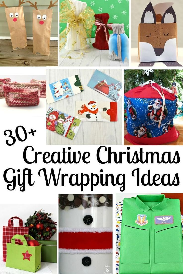 30+ Creative Christmas Gift Wrapping Ideas | Gift Wrapping ...