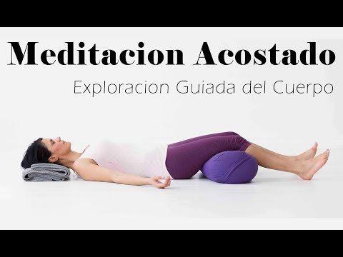 Meditación Guiada para Antes de Dormir - Mindfulness Atención Plena Escaneo Corporal 20 Minutos - YouTube