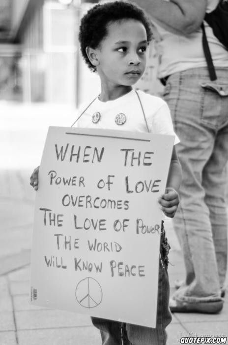 World Peace. this brought out my inner hippie lol
